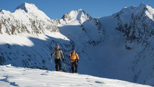 Schneeschuhwandern in Sölden