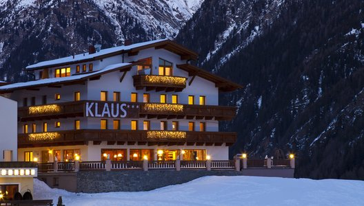 Winter in der Pension Klaus